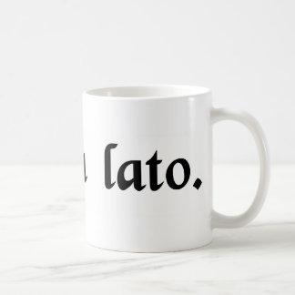 Broadly speaking. coffee mug