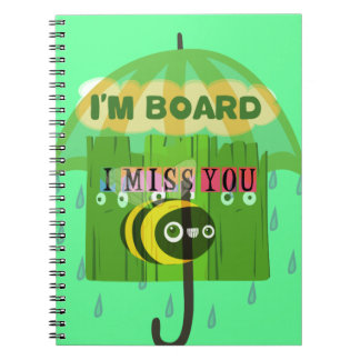 Broadly Speaking I miss You Notebook