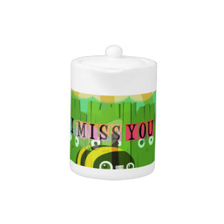 Broadly Speaking I miss You Teapot