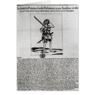 Broadsheet de Dublín, 1647 Tarjeton