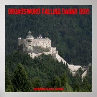 Broadsword calling Danny Boy! Poster