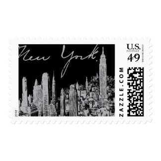 Broadway A by Ceci New York Stamps