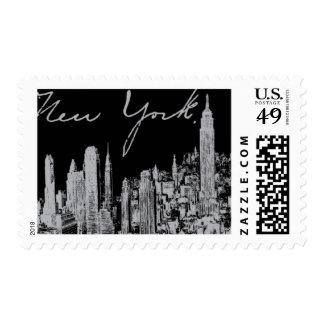 Broadway A de Ceci Nueva York Sello Postal
