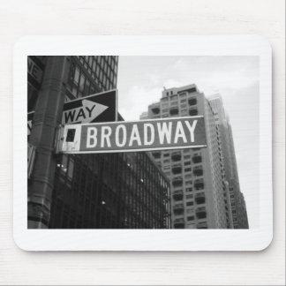 Broadway. Alfombrillas De Ratón