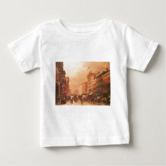 Broadway at Spring Street, New York circa 1855 Baby T-Shirt