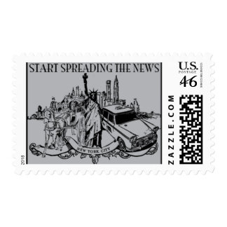 Broadway B by Ceci New York Postage Stamps