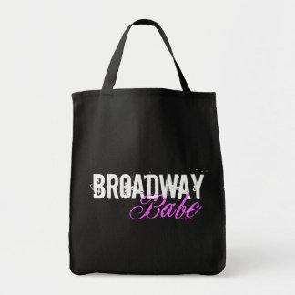 Broadway Babe Canvas Bag