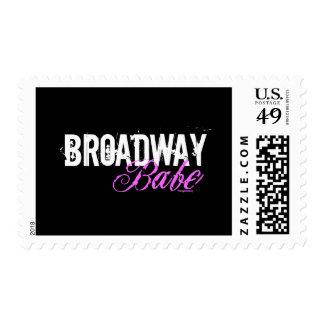 Broadway Babe Postage Stamp