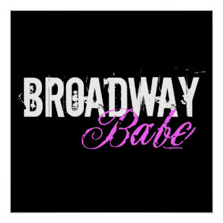 Broadway Babe Poster