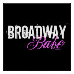 Broadway Babe Posters