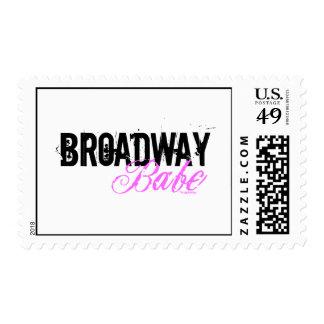 Broadway Babe Stamp