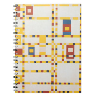 Broadway Boogie Woogie Notebook