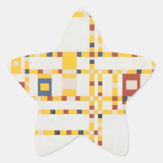 Broadway Boogie Woogie Star Sticker