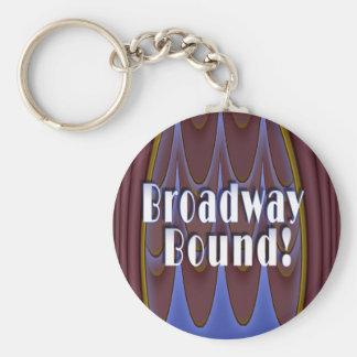 Broadway Bound! Basic Round Button Keychain