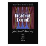 Broadway Bound! Custom Announcement