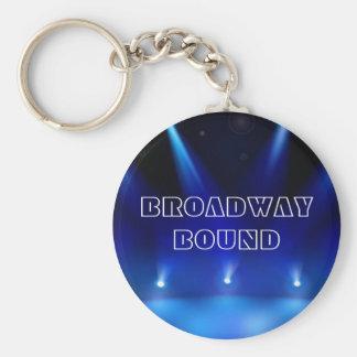 Broadway Bound Keychain