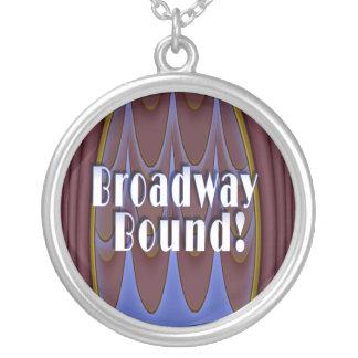 Broadway Bound! Round Pendant Necklace