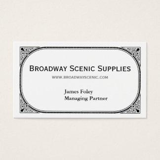 Broadway Business Card