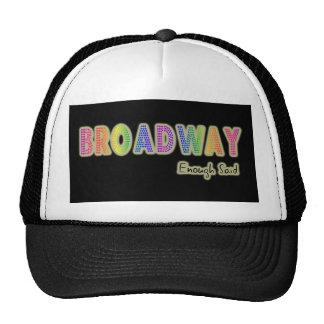Broadway Enough Said Hat