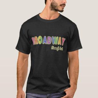 Broadway Enough Said Mens Dark T-Shirt
