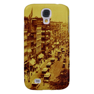 Broadway from Post Office June 1888 New York City Galaxy S4 Case