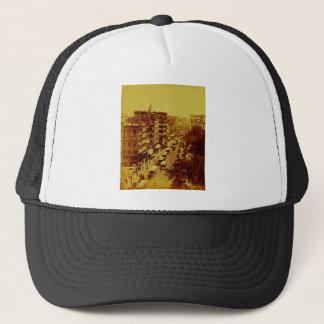 Broadway from Post Office June 1888 New York City Trucker Hat