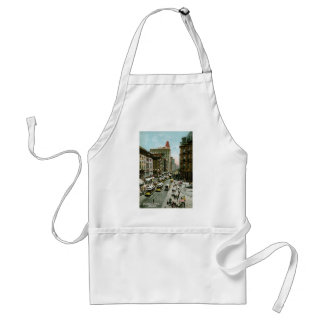 Broadway from St. Pauls, New York Adult Apron