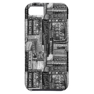 Broadway Iphone 5 Cover (B&W)