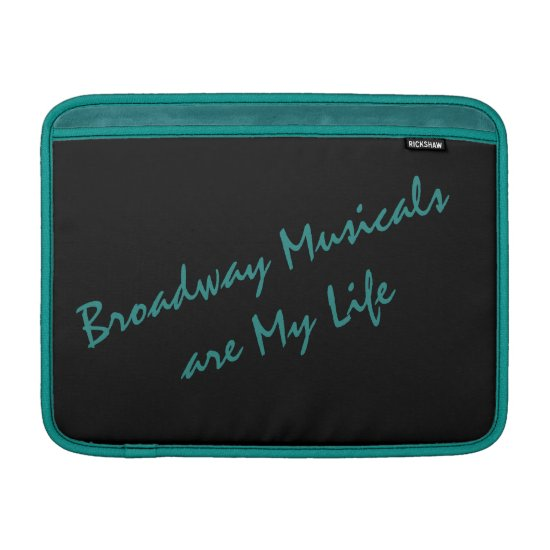 Broadway Musicals MacBook Air Sleeve