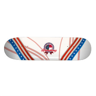 Broadway, NC Skate Board Deck