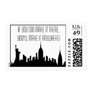 Broadway New York Postage Stamp