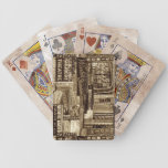 Broadway Playing Cards (Sepia)