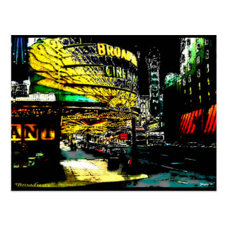 Broadway - Postcard