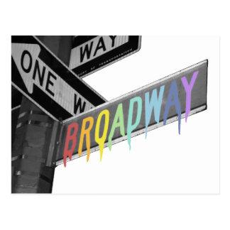 Broadway Postcard
