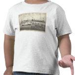 Broadway que baña la tierra, arboleda del océano,  camisetas