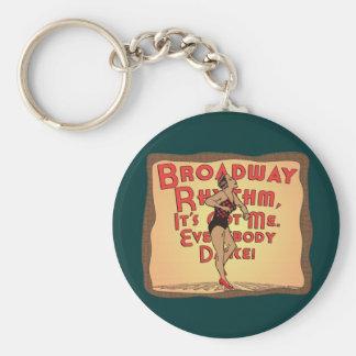 Broadway Rhythm Keychain