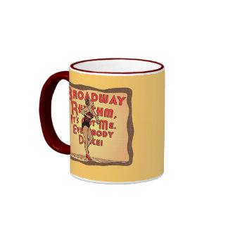 Broadway Rhythm Mugs