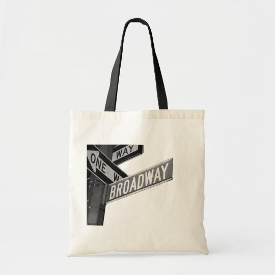 Broadway Sign Tote Bag