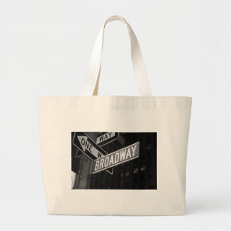 Broadway Street Sign Canvas Bag