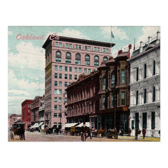 Broadway Street Vintage Postcard
