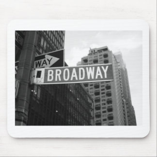 Broadway. Alfombrilla De Ratón
