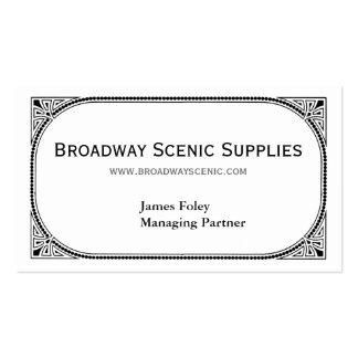 Broadway Tarjetas De Visita