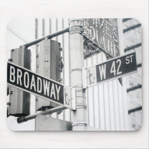 Broadway Times Square Mousepad