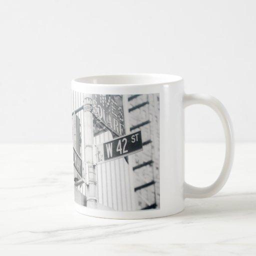 Broadway Times Square Mug