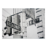 Broadway Times Square Print