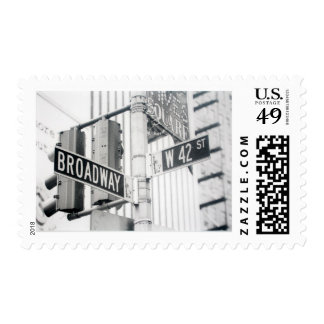 Broadway Times Square Stamp