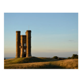 Broadway tower in the Cotswolds postcard