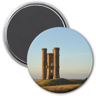 Broadway tower in the Cotswolds round magnet