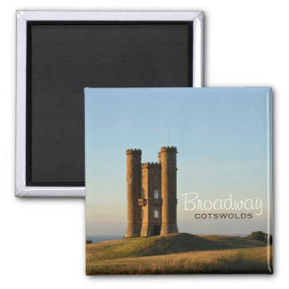 Broadway tower in the Cotswolds text magnet