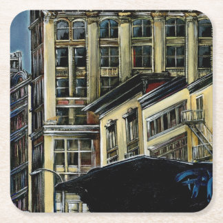 Broadway's Best, New York City Square Paper Coaster